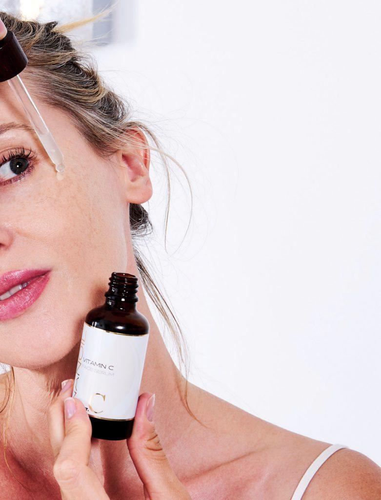 beste ansiktsserum med vitamin C Nanoil